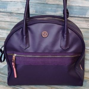 Lululemon yoga gym bag